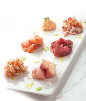 Mixed seafood appetiser