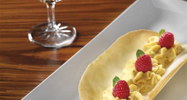 Barchetta di crema al mascarpone e nocciola