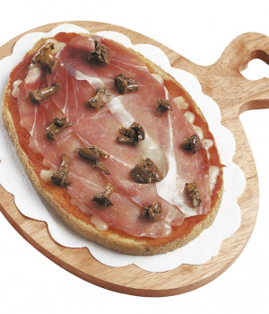 Bruschetta tirolese