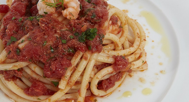Bucatini Marinara