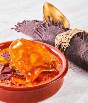 Catalana con zucchero caramellato