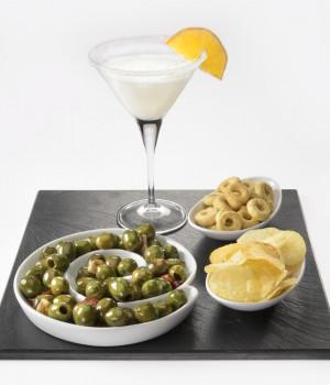Daiquiri  with Delicious Castalvetrano Olives