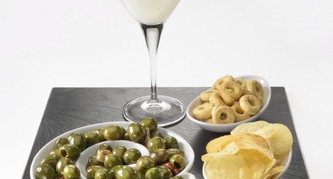 Daiquiri con olive di Castelvetrano sfiziose