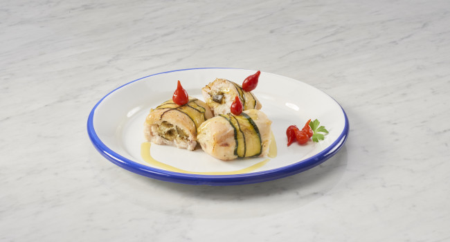 COURGETTE ROLLS