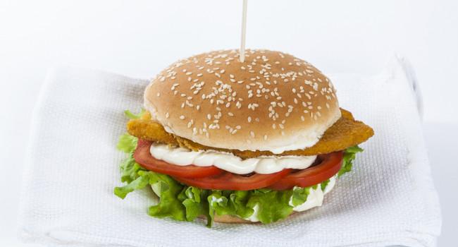 Hamburger cotoletta pollo