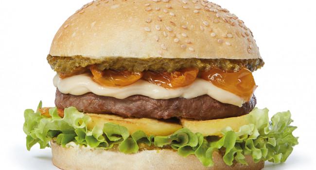 Langhe hamburger