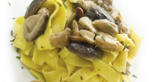 Taglaitelle Pasta witH Èfungomix