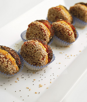 MACARONS CON ZUCCA