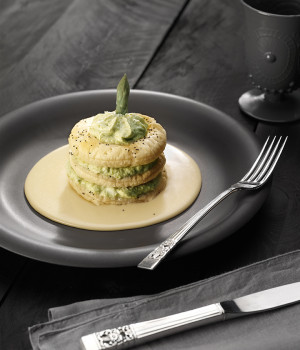 Asparagus millefeuille