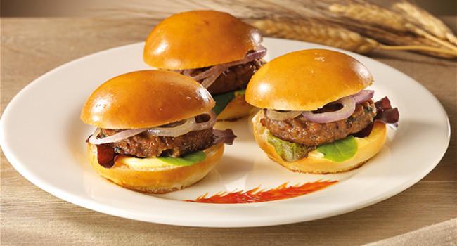 Mini hamburger ai carciofi