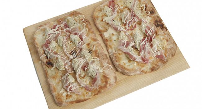 P.A.L.A. Artichoke, Pancetta and Pecorino Cheese