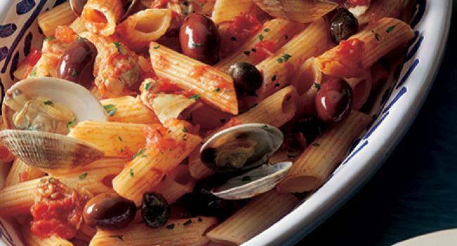 Penne with Veraci clams