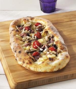 Pizza agli gnocchi e Èfungomix