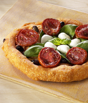 Fried Pizza Caprese