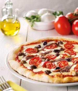 Pizza l'estiva