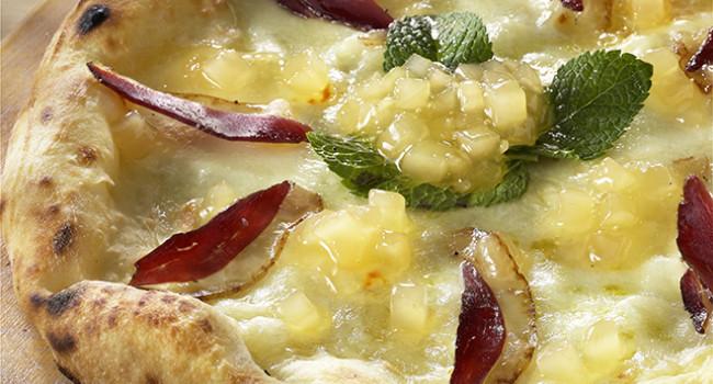 Pizza Oca e Zenzero