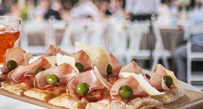 GLUTEN-FREE P.A.L.A. PIZZA WITH CULATELLO AND CASTELVETRANO OLIVES