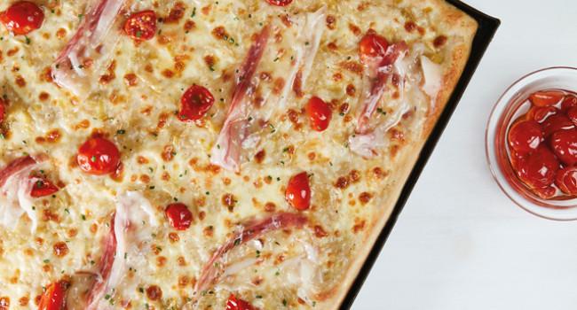 LEEK AND DORATI PIZZA