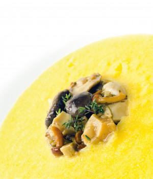 Èfungomix with polenta