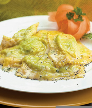 Ravioli with Ricotta and Nettles