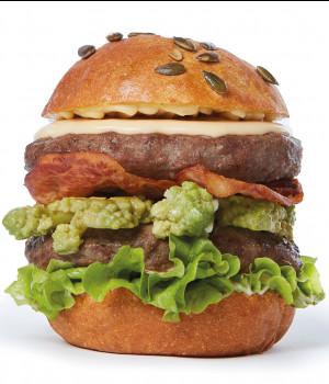 Roma doppio hamburger