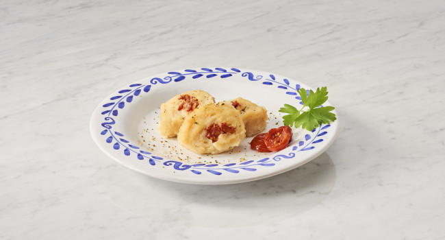 COD ROLL WITH DORATI TOMATOES