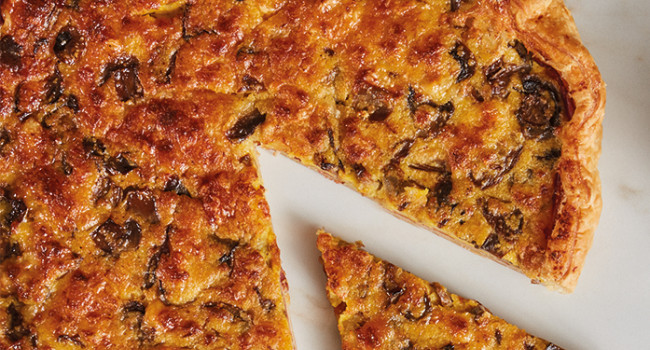 Champignon-Torte