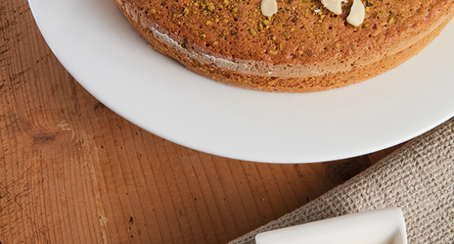 Torta mandorle  e pistacchio