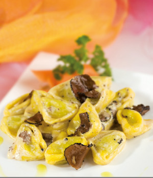 Tortelli with Porcini and Truffle