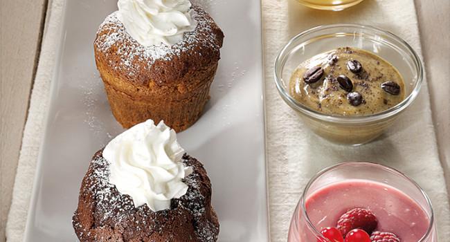 Trilogia di muffin