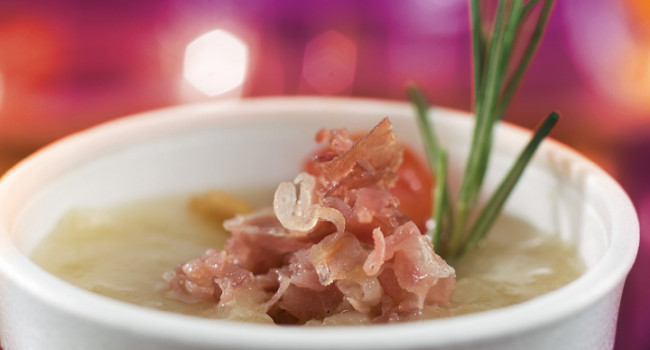 Onion and Speck soup