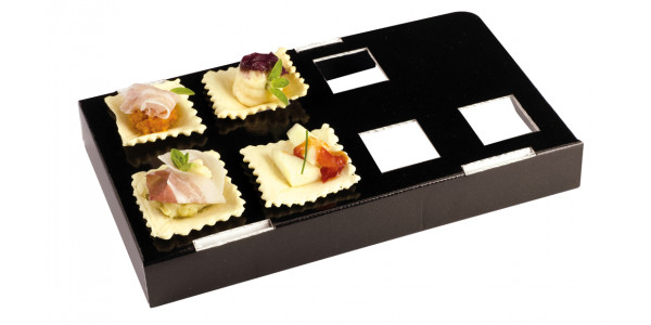 Mini Buffet 7 S'panito black cardboard