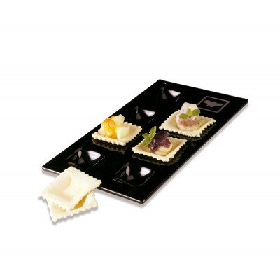 7 S'panito glass tray
